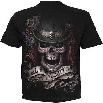 tričko pánské SPIRAL - EL MUERTO - BLK - T097M101
