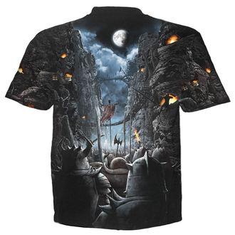 tričko pánské SPIRAL - DEVILS PATHWAY - BLK - W019M105