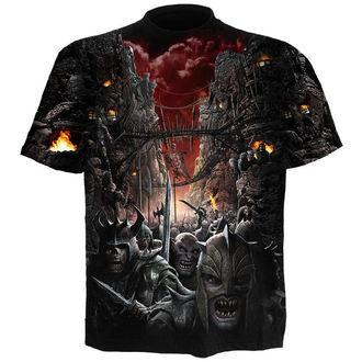 tričko pánské SPIRAL - DEVILS PATHWAY - BLK