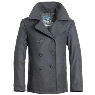 kabát pánský zimní Brandit - Pea Coat – Anthrazit, BRANDIT