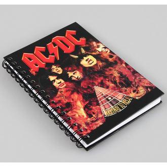 poznámkový blok AC/DC, AC-DC