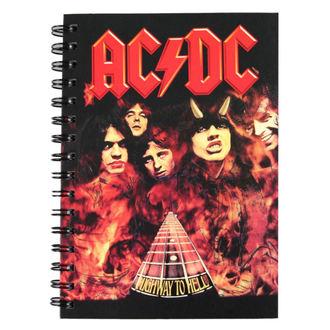 poznámkový blok AC/DC, NNM, AC-DC
