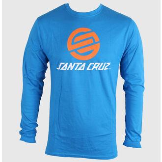 tričko pánské SANTA CRUZ - Stripknot - Swedish Blue - TLST F14