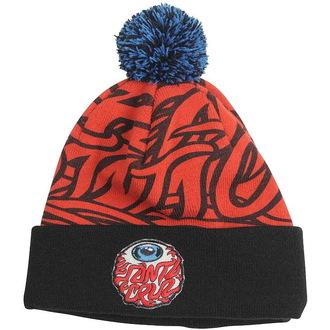 kulich SANTA CRUZ - Eyeball Bobble - Red/Black, SANTA CRUZ