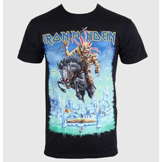 tričko pánské Iron Maiden - Trooper - Black - ROCK OFF - IMTEE37MB