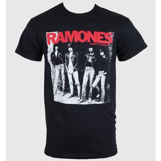 tričko pánské Ramones - Rocket To Russia - Black - ROCK OFF, ROCK OFF, Ramones