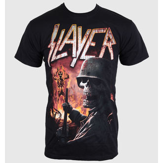 tričko pánské Slayer - Torch - Black - ROCK OFF - SLAY19