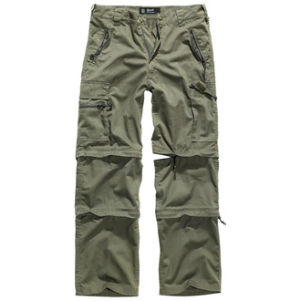 kalhoty pánské BRANDIT - Savannah Trouser - Oliv - 1011/1