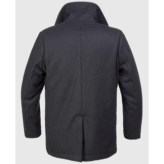 kabát pánský zimní Brandit - Pea Coat - Black, BRANDIT
