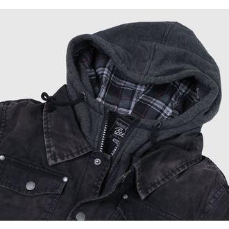 bunda pánská zimní Brandit - Dayton - Black - 3139/2