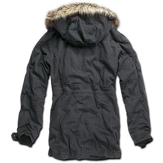 bunda dámská zimní Brandit - Nolita Vintage - Black, BRANDIT