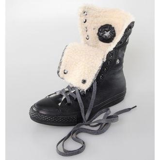 boty dámské zimní CONVERSE - Chuck Taylor All Star Knee-Hi - Black, CONVERSE