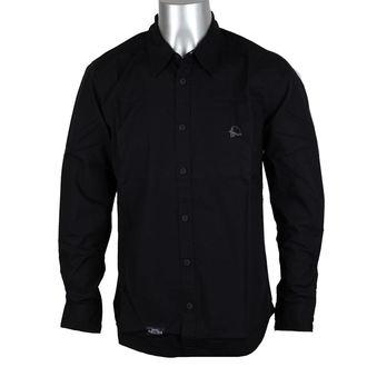 košile pánská METAL MULISHA - CLYDE - BLK