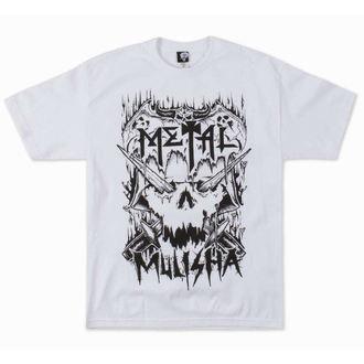 tričko pánské METAL MULISHA - METALHEAD - WHT
