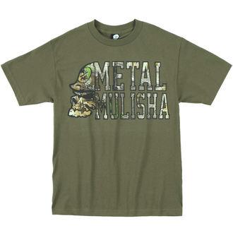 tričko pánské METAL MULISHA - LOCKUP - MGN