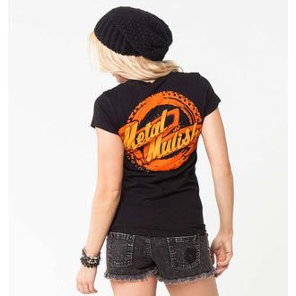 tričko dámské METAL MULISHA - MOTO CLUB - BLK