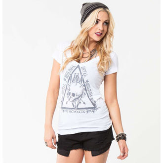 tričko dámské METAL MULISHA - SPIRITUAL - WHT