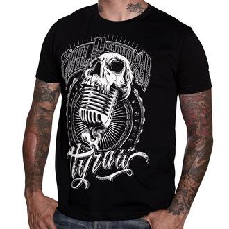 tričko pánské HYRAW - Evil Records - Black - HY004