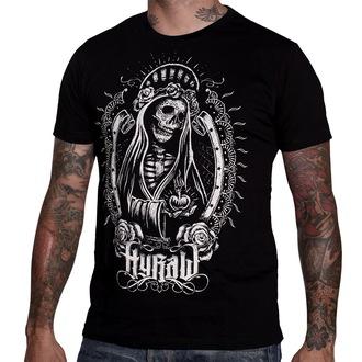 tričko pánské HYRAW - Santa Muerte - Black - HY006
