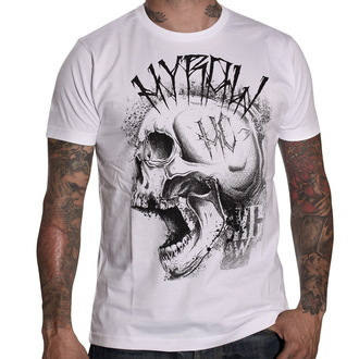 tričko pánské HYRAW - Punkshit - White - HY007