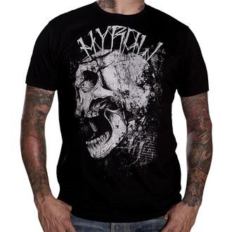 tričko pánské HYRAW - Punkshit - Black - HY008