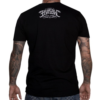 tričko pánské HYRAW - Punkshit - Black