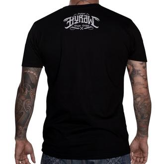 tričko pánské HYRAW - Skull & Bones - Black
