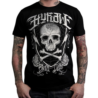 tričko pánské HYRAW - Born dead - Black - HY011