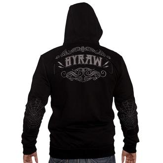 mikina pánská HYRAW - Black flag, HYRAW
