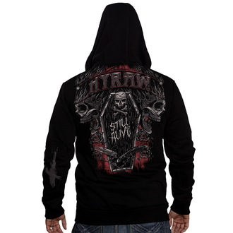 mikina pánská HYRAW - Dark coffin - HY030