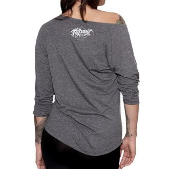 tričko dámské s 3/4 rukávem HYRAW - Crow