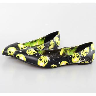 boty dámské (baleríny) IRON FIST - AREA 51 Pointy Flat - BLACK, IRON FIST