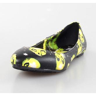 boty dámské (baleríny) IRON FIST - AREA 51 Pointy Flat - BLACK