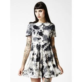 šaty dámské DISTURBIA - Storm - Black/White/Pink, DISTURBIA