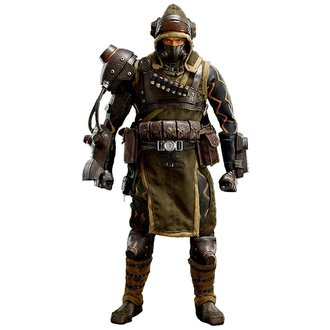 figurka Lost Planet - Mercenary, NNM
