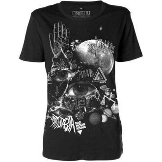 tričko dámské DISTURBIA - Bad Moon - Black - DIS420