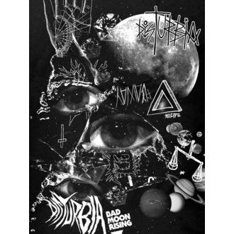 tričko dámské DISTURBIA - Bad Moon - Black, DISTURBIA