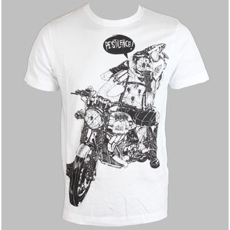 tričko pánské DISTURBIA - Pestilence - White - DIS410