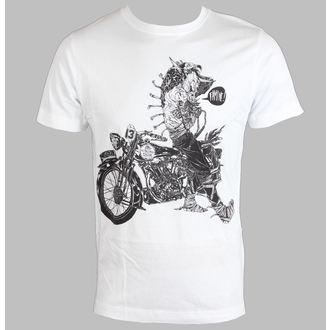 tričko pánské DISTURBIA - Famine - White - DIS408