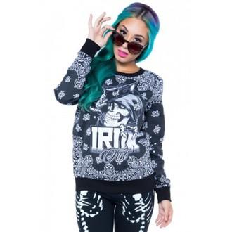 mikina dámská IRON FIST - Crew - Black