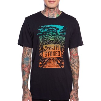 tričko pánské IRON FIST - SORRYFORPARTYING - BLACK