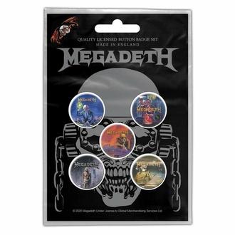 placky MEGADETH - VIC RATTLEHEAD - RAZAMATAZ, RAZAMATAZ, Megadeth