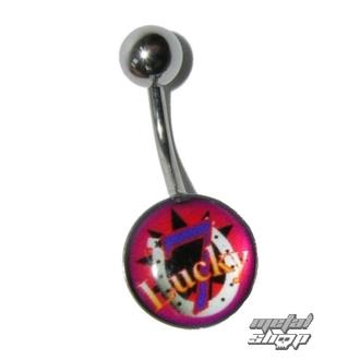 piercingový šperk Lucky - 1PCS - L 157, LUCKY 13