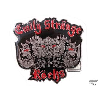 přezka na kožený opasek EMILY THE STRANGE - Emily (E4082303) Kittyhead Belt Buckle