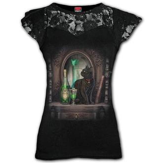 tričko dámské SPIRAL - ABSINTHE - Black, SPIRAL