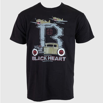 tričko pánské BLACK HEART - Greener - Black