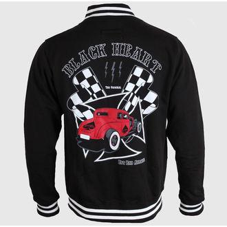 mikina pánská Baseball BLACK HEART - Red Coupe