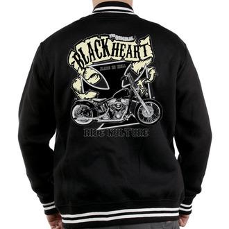 mikina pánská Baseball BLACK HEART - Motorcycle K.