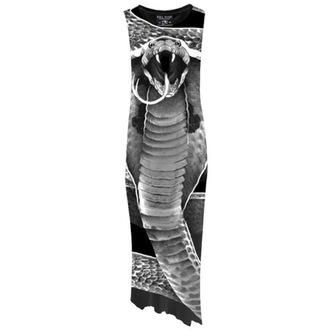 šaty dámské  KILLSTAR - Cobra - Digital Black
