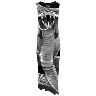 šaty dámské  KILLSTAR - Cobra, KILLSTAR